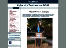 alpharettaclub.toastmastersclubs.org
