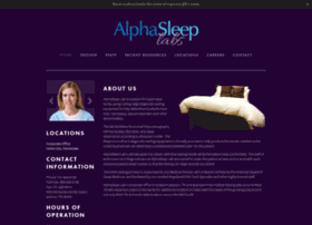 alphasleeplab.com