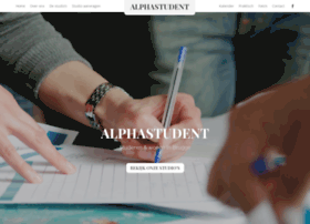 alphastudent.be