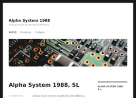 alphasystem1988.com