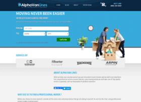 alphavanlines.com