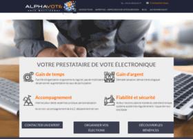 alphavote-avex.com