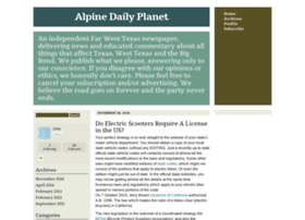 alpinedailyplanet.typepad.com
