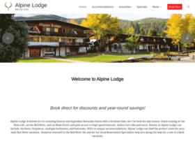 alpinelodgeredriver.com