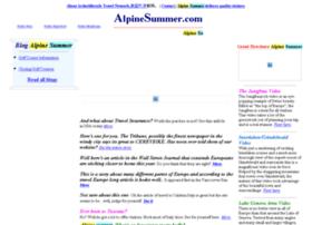 alpinesummer.com
