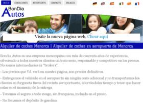 alquilerdecochesmenorcaa.com