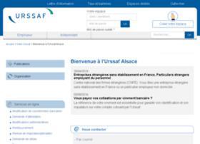 alsace.urssaf.fr