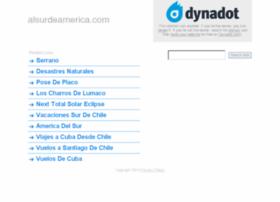 alsurdeamerica.com