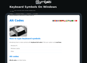 alt-codes.org