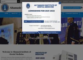 altamash.edu.pk
