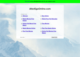alteregoonline.com