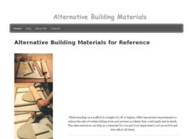 alternativematerials.snappages.com
