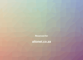 altonet.co.za