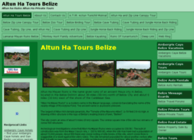 altunhatoursbelize.actionboysbelize.com
