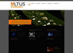 altuseconomics.com