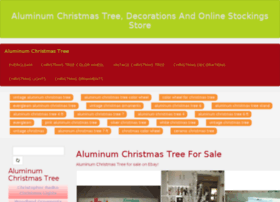 aluminumchristmastreestore.com