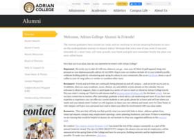 alumni.adrian.edu