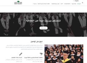 alumni.birzeit.edu
