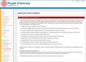 alumni.puchd.ac.in