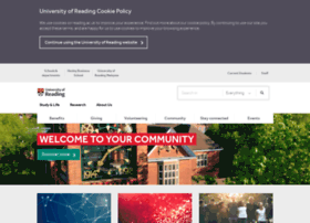 alumni.reading.ac.uk