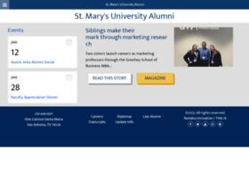 alumni.stmarytx.edu