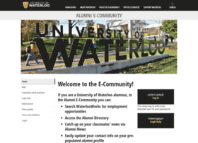 alumni.uwaterloo.ca
