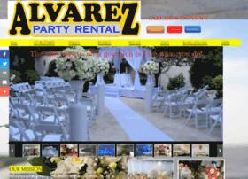 alvarezpartyrental.com