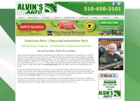 alvinsautorecycling.com