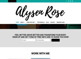 alysenrose.com