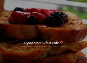 alyssasbreakfastcafe.wordpress.com