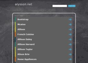 alysson.net
