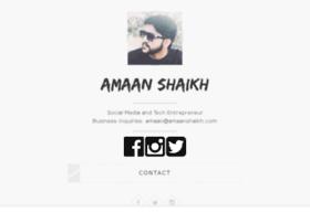 amaanshaikh.com