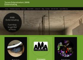 amaexterminating.com