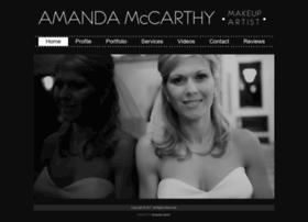 amandamccarthymakeup.com