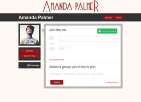 amandapalmer.fanbridge.com