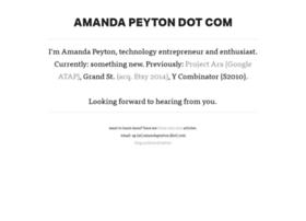 amandapeyton.com