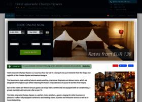 amarante-champselysees.hotel-rv.com