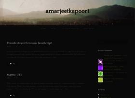 amarjeetkapoor1.wordpress.com