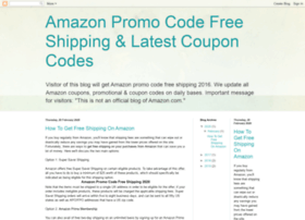 If you don't want to purchase Amazon Prime, you can find an Amazon free shipping code to use on your order. Some of these may have limits, such as the amount you need to spend before qualifying for free shipping. You can easily find an Amazon free shipping coupon code to suit you online, and if you do this each time you shop with Amazon, you /5().