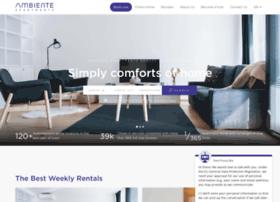 ambiente-apartments.com