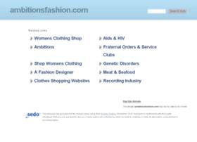 ambitionsfashion.com