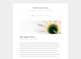 ambitiouslyliving.wordpress.com
