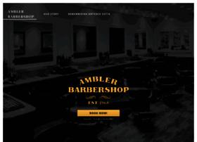 amblerbarbershop.com