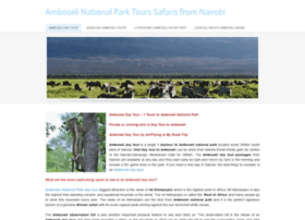 amboseli-day-tour.weebly.com