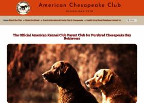 amchessieclub.org