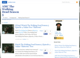 amcwalkingdeadseason5.com
