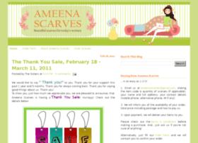 ameenascarves.blogspot.com