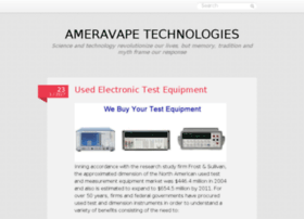 ameravapetechnologies.tumblr.com