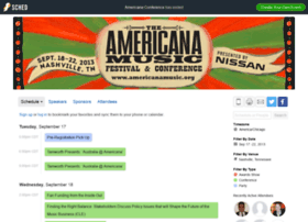 americanaconference2013.sched.org