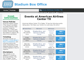 Americanairlines.center-boxoffice.com